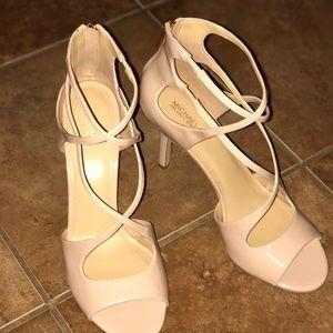 Patent leather heels
